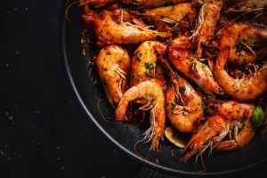 Curry powder is a spice for fish and shrimp