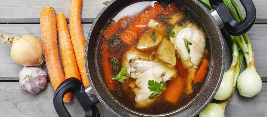 ادویه سوپ با پایه مرغ
