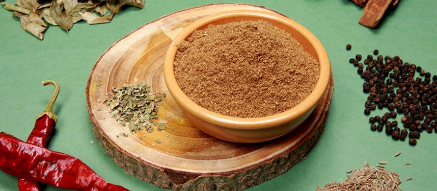 مواد و ترکیبات لازم برای تهيه ادویه ماسالا
